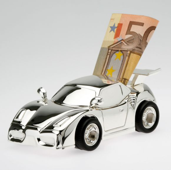 Savings tin, Race car
